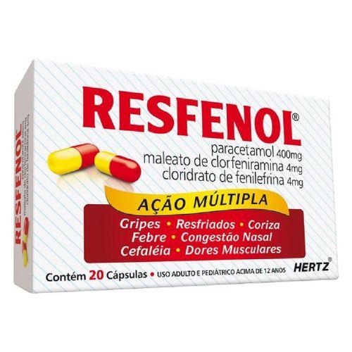 Resfenol-Hertz-20-Capsulas