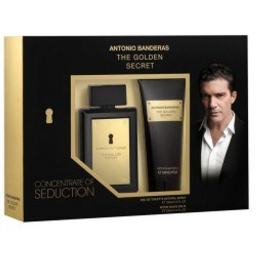 Kit-Antonio-Bandeira-Golden-Secret-EAU-de-Toilette-100ml---Pos-Barba-100ml