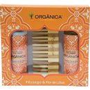 Kit-Bi-Set-Organica-Pessego-e-Flor-de-Lotus-Hidratante---Sabonete-Liquido---Pente-de-Bambu