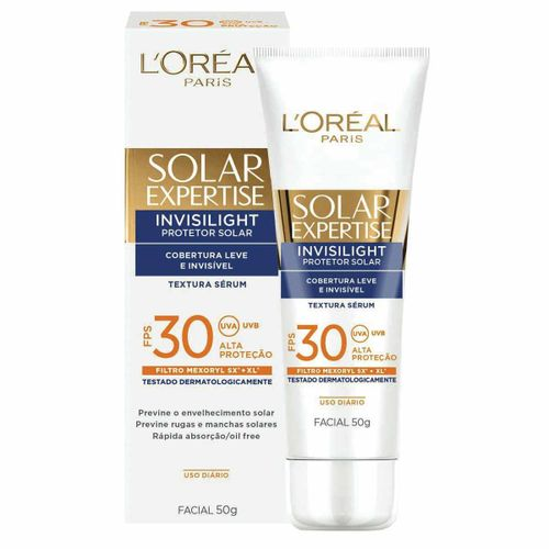 Protetor-Solar-Facial-Loreal-Expertise-FPS-30-Invisilight-50g