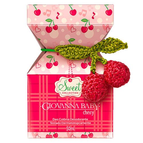 Colônia Giovanna Baby Cherry 50ml