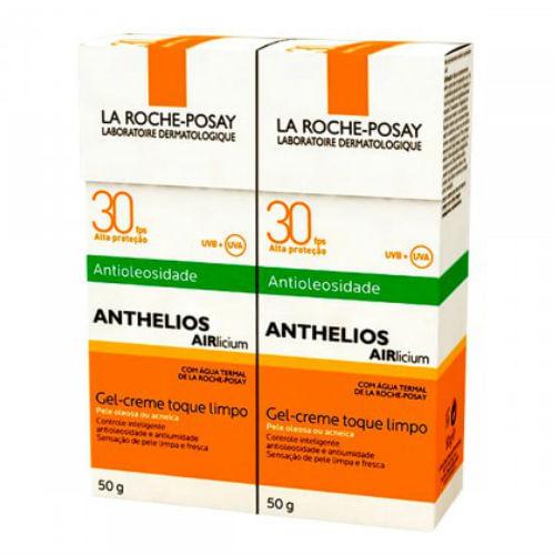 Protetor-Solar-La-Roche-Posay-Anthelios-Airlicium-FPS-30-50g-2-Unidades-Drogaria-SP-579980