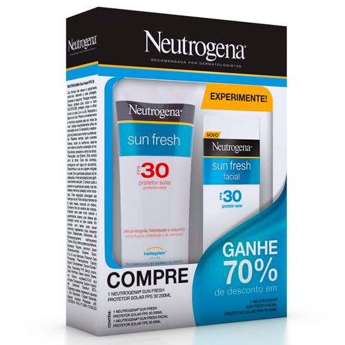 Kit-Protetor-Solar-Neutrogena-Sun-Fresh-FPS-30-200ml-Sun-Fresh-Facial-FPS-30-50ml-Pacheco-584533