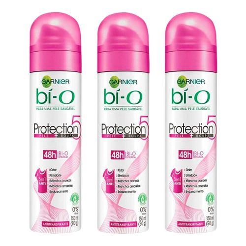 Kit-Desodorante-Bi-O-Protection-5-Aerosol-Feminino-150ml-3-Unidades-Pacheco-9001141