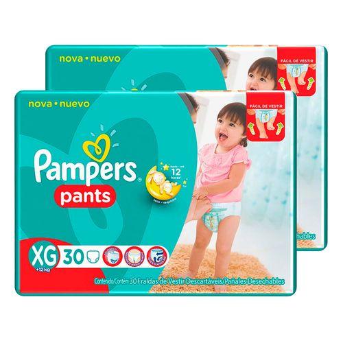 Kit-Fralda-Descartavel-Pampers-Pants-Mega-XG-60-Unidades-Pacheco-9001325