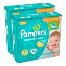 Kit-Fralda-Descartavel-Pampers-Confort-Sec-XG-68-Unidades-Pacheco-9001328