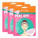 Kit-Mascara-Facial-Clareadora-Peel-Off-Dermage-Sache-10g-3-Unidades-Pacheco-9001351