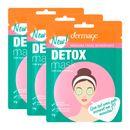 Kit-Mascara-Facial-Revigorante-Detox-Dermage-Sache-10g-3-Unidades-Pacheco-9001353