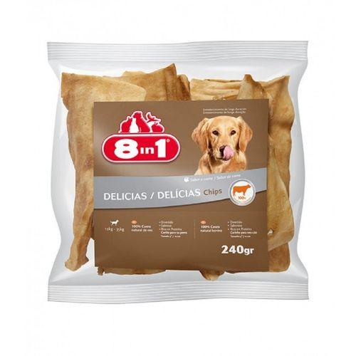 Osso Delícias Chips Carne 240 g
