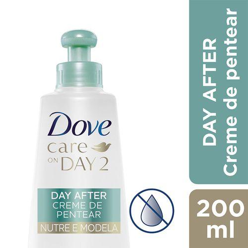 Creme de Pentear Dove Care On Day 2 Nutre e Modela 200ml