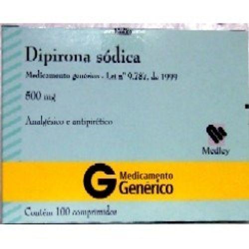Dipirona-Sodica-500mg-Generico-Medley-4-Comprimidos