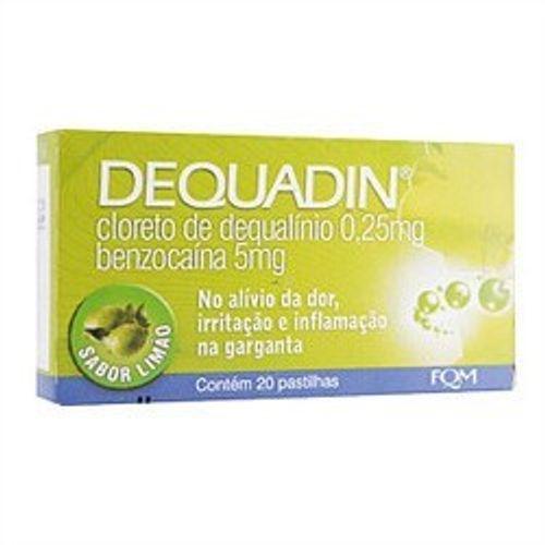 Dequadin-Farmoquimica-Limao-20-Pastilhas