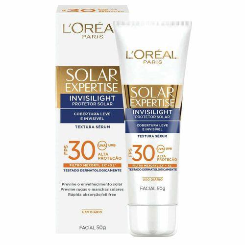 Protetor-Solar-Facial-Loreal-Expertise-FPS-30-Invisilight-50g