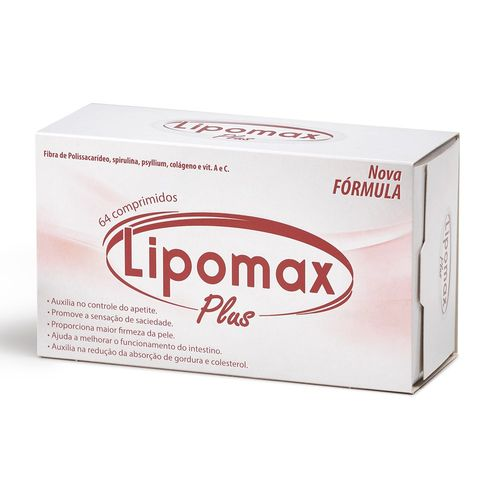 Lipomax-Plus-Divcom-Nordeste-64-comprimidos