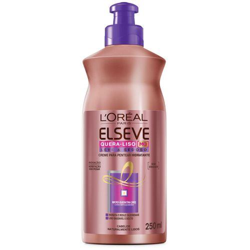 Creme-para-Pentear-Elseve-Quera-liso-Hidratante-400ml