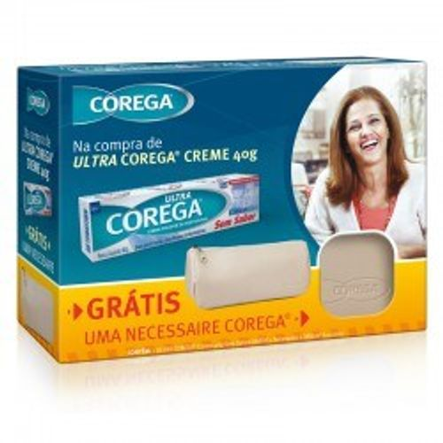 Kit-Creme-Dental-Corega-40g---Necessaire-