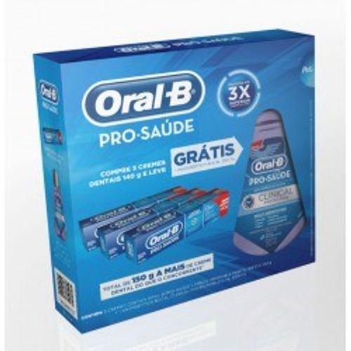 Creme-Dental-Oral-B-Pro-Saude-140g-c-3--Gratis-Antisseptico-Bucal-250ml