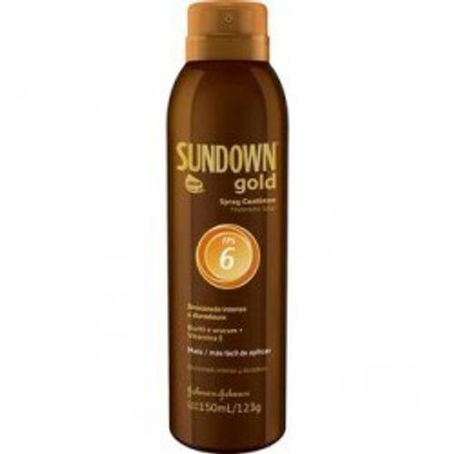 Bronzeador-Sundown-Gold-Spray-FPS-6-150ml