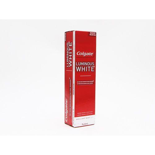 Creme-Dental-Colgate-Luminous-White-90g