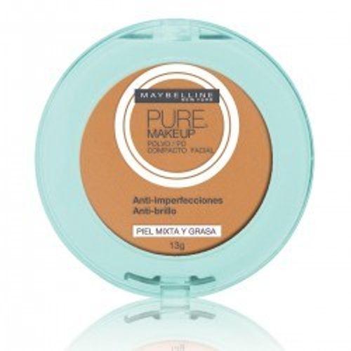 Po-Compacto-Maybelline-Pure-Make-Up-Dourado-13g