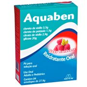 Aquaben-4-Envelopes-Sabor-Framboesa