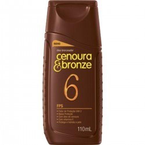 Oleo-Bronzeador-Cenoura---Bronze-FPS-6-110ml