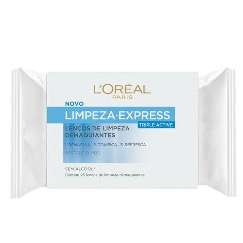 Lenco-Demaquilante-Loreal-Limpeza-Express