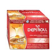 Cera-para-Depilacao-Depi-Roll-Mel-Hidrossoluvel-400g---Espatula---Lencos-TNT