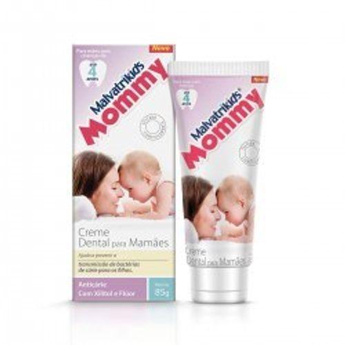 Creme-Dental-Infantil-Malvatrikids-Mommy-85g