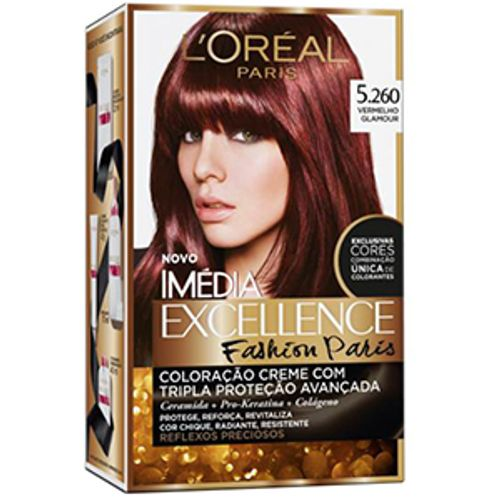Tintura-Imedia-Excellence-Loreal-Fashion-Paris-5260-Vermelho-Glamour-565857
