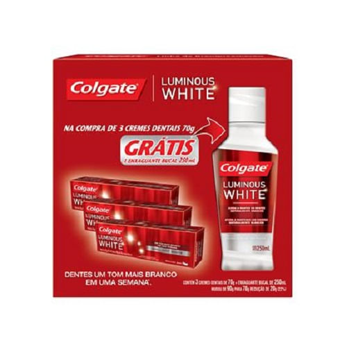 Kit-Creme-Dental-Colgate-Luminous-White-Gratis-Enxaguatorio-Colgate-567531