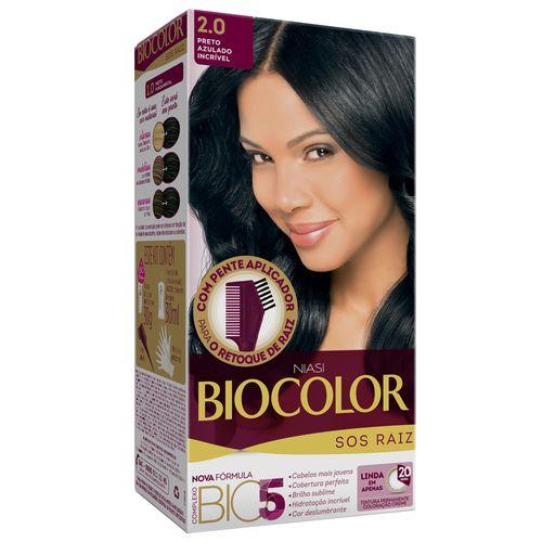 Kit-Biocolor-Tintura-2.0-Tintura-S.O.S-Preto-Azulado-561320