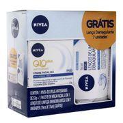 Kit-Hidratante-Nivea-Q10-Antissinais-Dia-53g---Lenco-de-Limpeza-Demaquilante