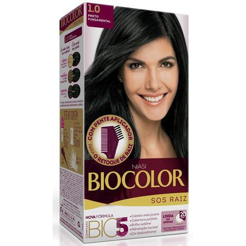 Kit-Tintura-Biocolor-S.O.S-Raiz-Preto-1.0-