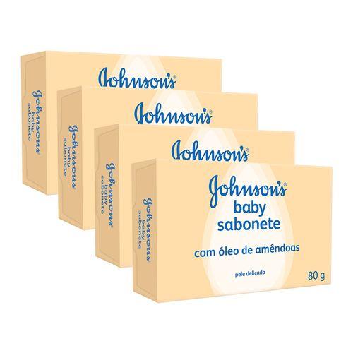Kit-Sabonete-Johnsons-Baby-oleo-de-Amendoas-80g-4-Unidades-Pacheco-9000985
