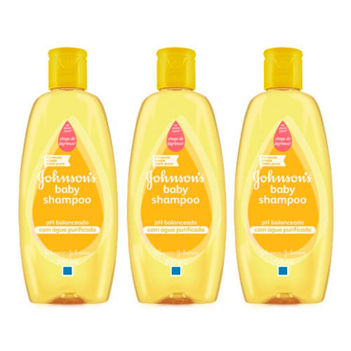 Kit-Shampoo-Johnsons-Baby-200ml-3-Unidades-Pacheco-9001302