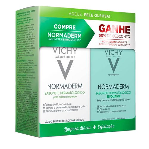Kit-Vichy-Normaderm-Sabonete-de-Limpeza-Diaria-80g-Sabonete-Esfoliante-80g-Drogaria-SP-586927
