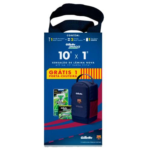 Kit-Gillette-Aparelho-de-Barbear-Mach3-Sensitive-Carga-2-Unidades-Porta-Chuteira-Pacheco-607916