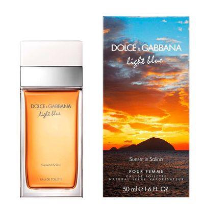 fd3122ae3f044 Light Blue Sunset In Salina De Dolce Gabbana Eau De Toilette Feminino - Drogarias  Pacheco