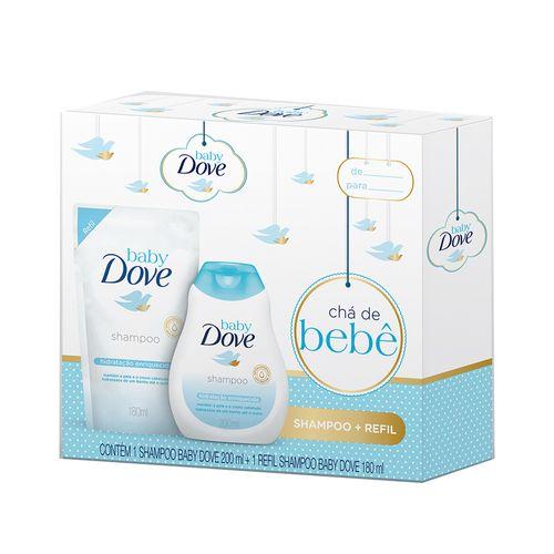 Kit-Dove-Baby-Hidratacao-Enriquecida-Shampoo-200ml-Refil-180ml-Pacheco-635120
