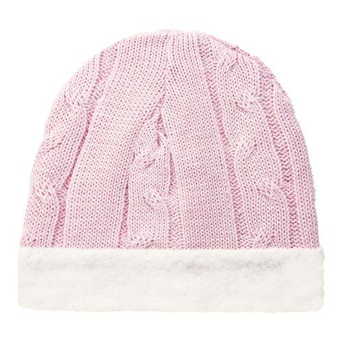 Gorro para bebê em pelúcia   tricot trançado Rosa - Mini Sailor - Drogarias  Pacheco 494da337a2c