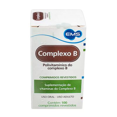 d37ec5dfd ComplexoB EMS 100 Cápsulas - Drogarias Pacheco
