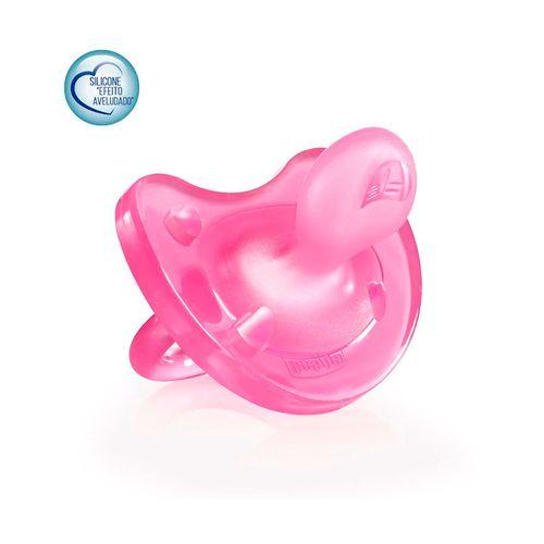 chupeta-chicco-soft-rosa-silicone-tamanho-2-12-meses-ou-mais-chicco-Pacheco-652164