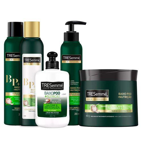 Kit-Tresemme-Baixo-Poo---Nutricao-com-Shampoo---Condicionador---Creme-de-Tratamento---Creme-de-Pentear-e-Co-Wash-Pacheco-9002201