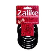 elastico-para-cabelos-preto-sem-metal-zalike-com-6-unidades-Pacheco-632805