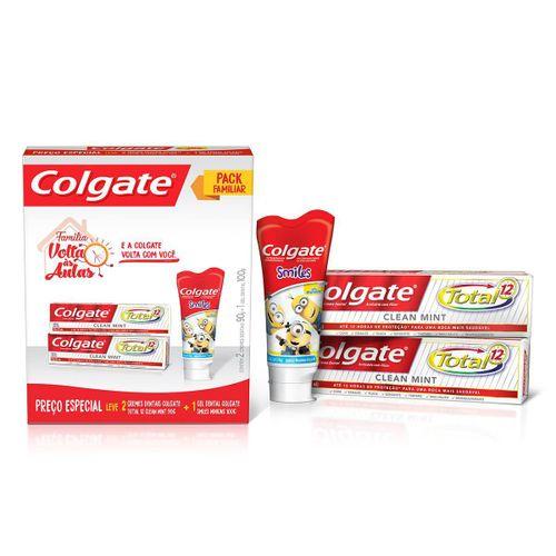 Kit-Colgate-Total-12-Clean-Mint-90gr-2-unidades---Gel-Dental-Smiles-100g-Pacheco-648655