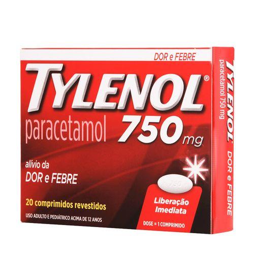 Tylenol-750Mg-20-Comprimidos-Drogaria-Pacheco-19119