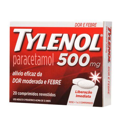 Tylenol-500mg-20-Comprimidos-Drogaria-Pacheco-350192