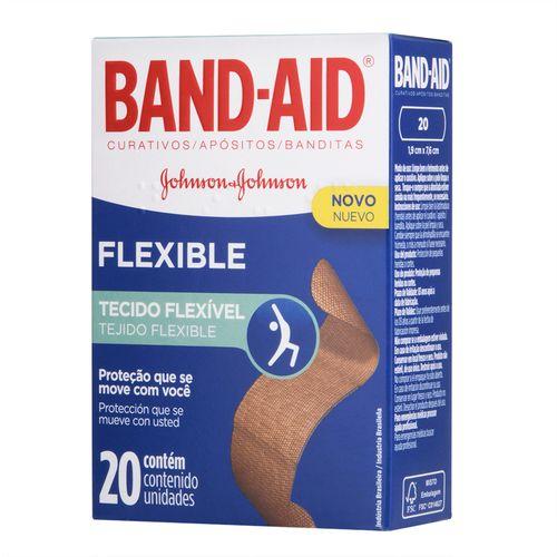 Curativo-Band-Aid-Flexible-Johnson-s-20-Unidades-Drogaria-Pacheco-557560
