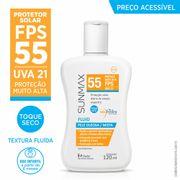 Protetor-Solar-Sunmax-Fluido-Pele-Oleosa-Mista-Fps-55-Stiefel-120ml-Drogaria-Pacheco-544590